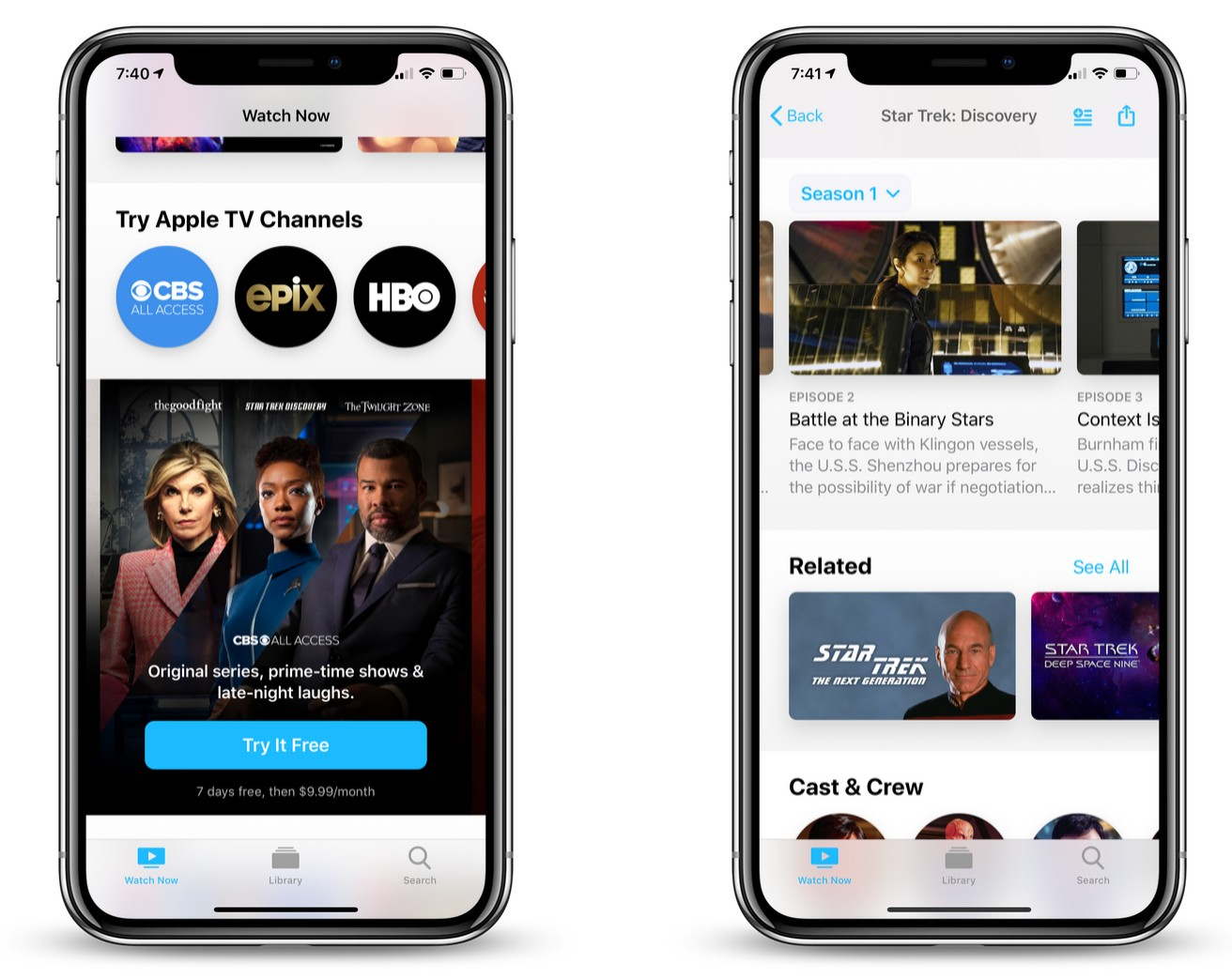 CBS All Access Subscriptions Now Available Via 'Apple TV Channels' Feature