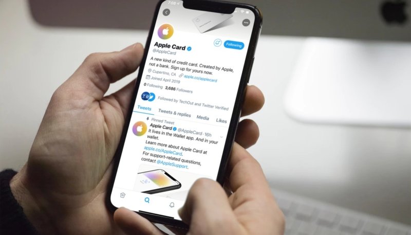 The Apple Card Gets Its Own Twitter Account, Because Sure It Does