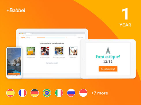 MacTrast Deals: Babbel Language Learning: 1-Yr, 2-Yr & Lifetime Subscriptions