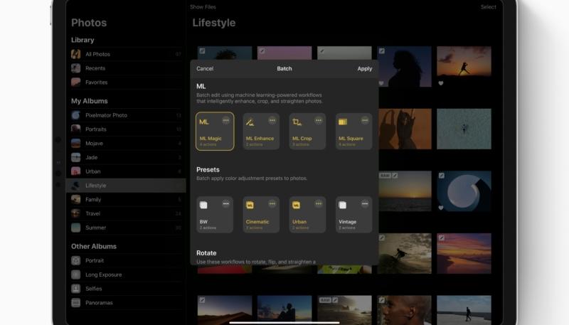 Pixelmator Photo Update Brings iPadOS Features, Better iCloud Photos Integration, More