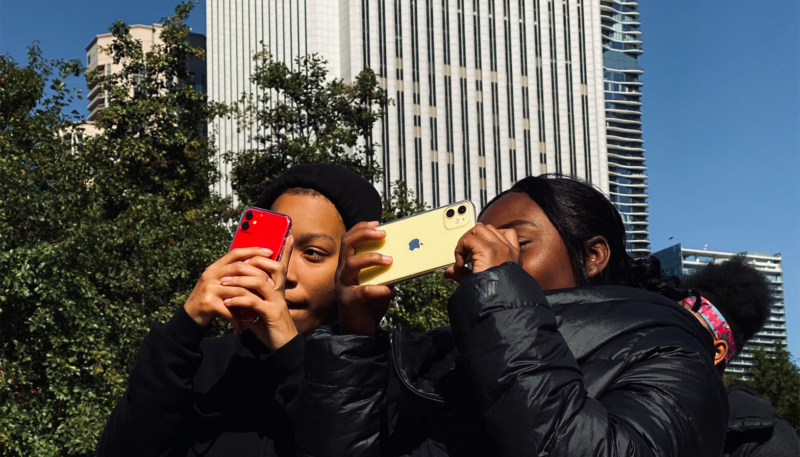 Apple Partners With 100cameras to Teach Photography With iPhone 11 to Chicago Students