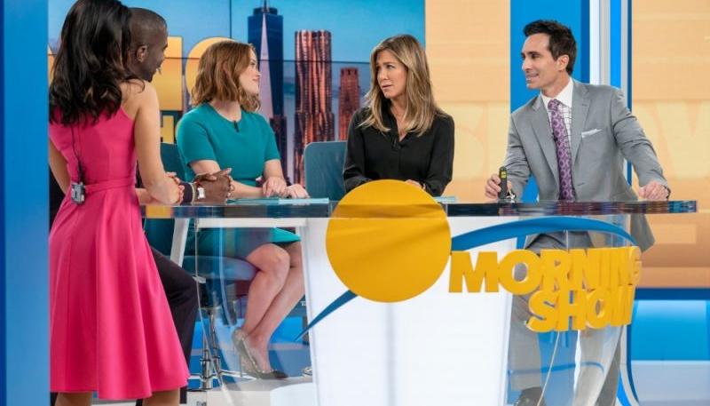 Apple TV+'s 'The Morning Show' Goes on Coronavirus-Preventative Filming Hiatus