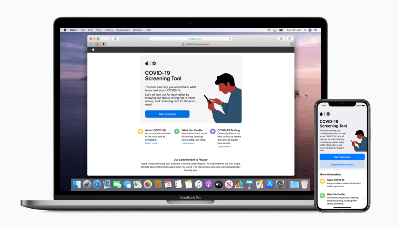 Apple Updates COVID-19 Screening App – Updated Symptoms and Recommended Actions