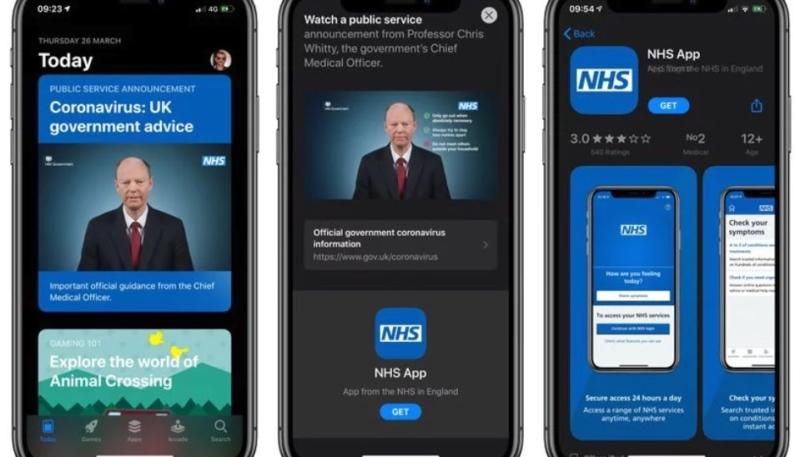 British Government Coronavirus PSA Added to UK App Store