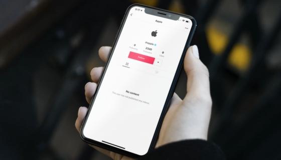Apple on TikTok