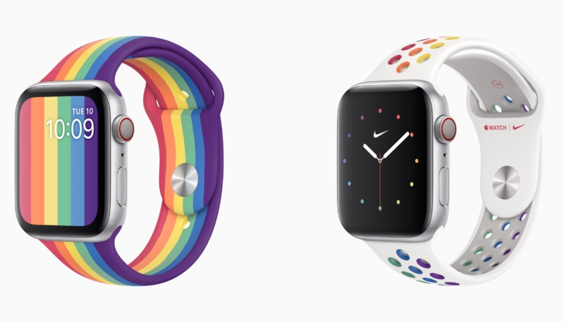 Apple Offers Two New Pride-Themed Apple Watch Sport Bands, Celebrates GLSEN's Student Advocate of the Year