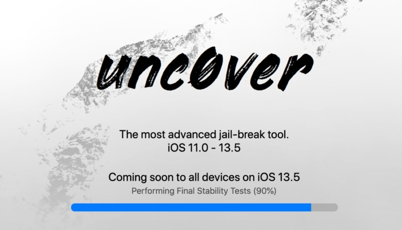 'unc0ver' Jailbreaking Tool for iOS 13.5 Devices May be Close to Release