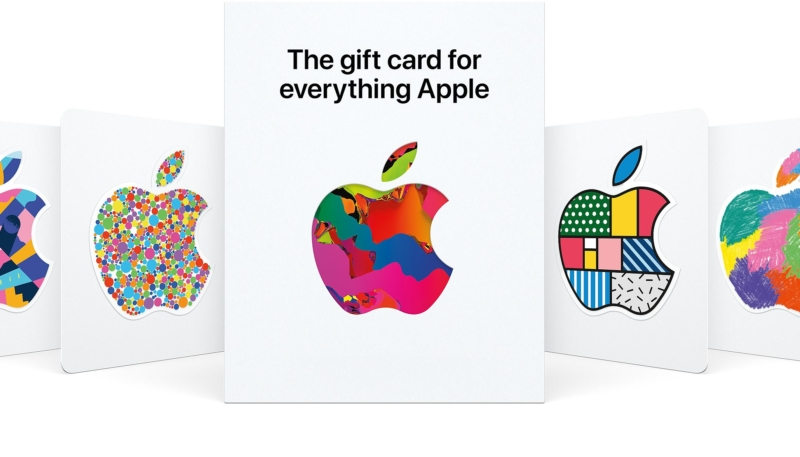 New Apple Gift Card Can Be Used in the App Store and in the Apple Store