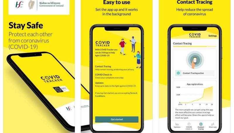Ireland Releases COVID-19 Tracker App That Uses Apple/Google Exposure Notification API