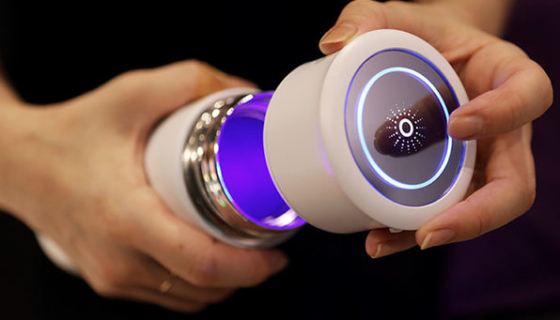 LINK UV Self-Cleaning Water Bottle
