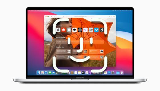 macOS Big Sur Face ID