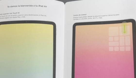 Alleged iPad Air Manual
