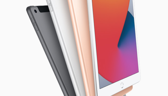 8th-generation iPad Available Colors