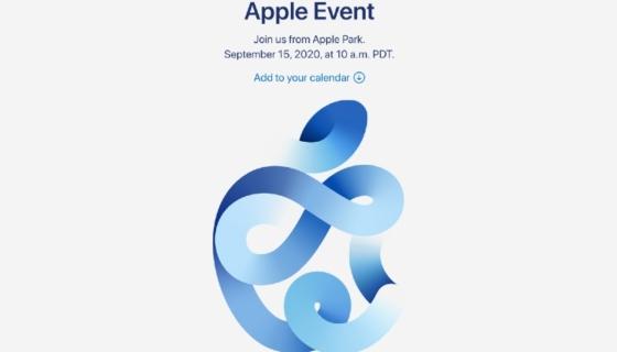 Apple September 2020 Event Invite