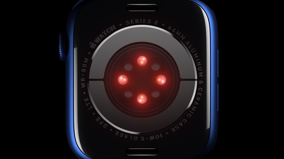Apple Watch Series 6 - Blood Oxygen Sensor