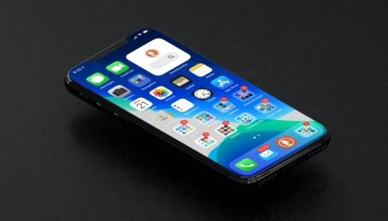 iOS 14 on an iPhone