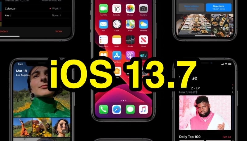 Apple Stops Signing iOS 13.7 Following iOS 14 Release, Downgrading No Longer Possible