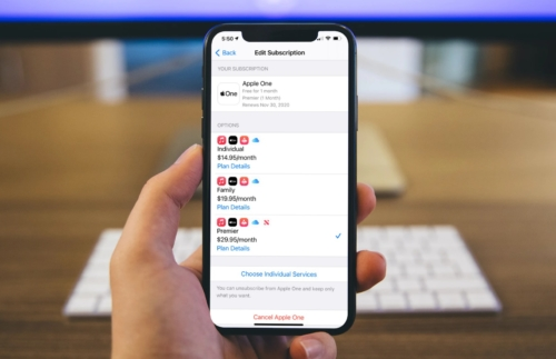 Apple One iPhone Signup