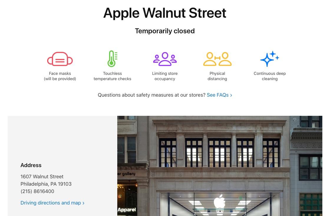 Walnut_Street - Apple_Store - Closed