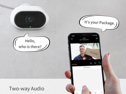 blurams Outdoor Pro Security Camera Outdoor System
