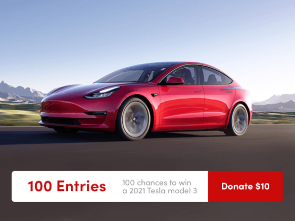 MacTrast Deals: Get 100 Entries to Win a 2021 Tesla Model 3 & Donate to Charity