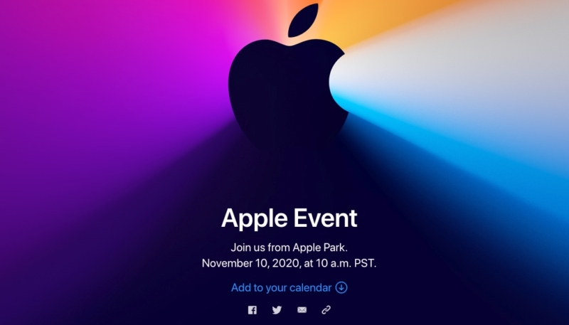 Apple to Hold November 10 Event Where First Apple Silicon Macs Expected to Debut