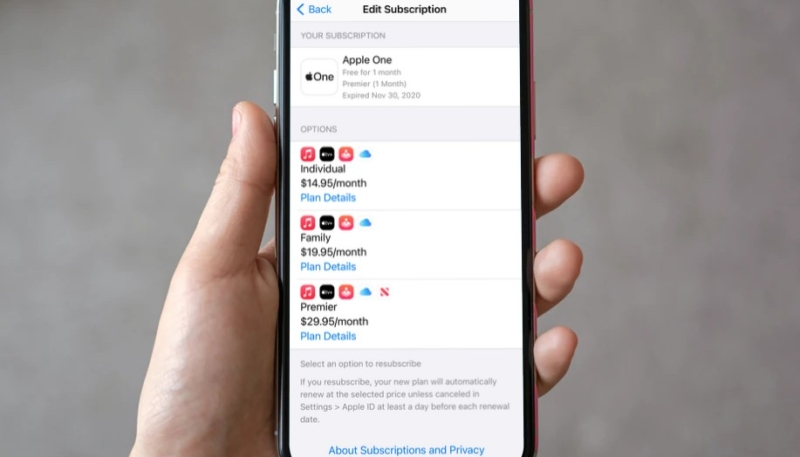 Some Apple One Subscribers See Their Account Marked as 'Expired' While Other Apple Services Billing Issues Arise
