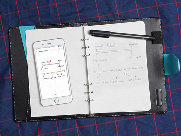 SyncPen 2nd Generation Smart Pen with Notebook