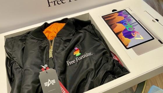 Free Fortnite Swag