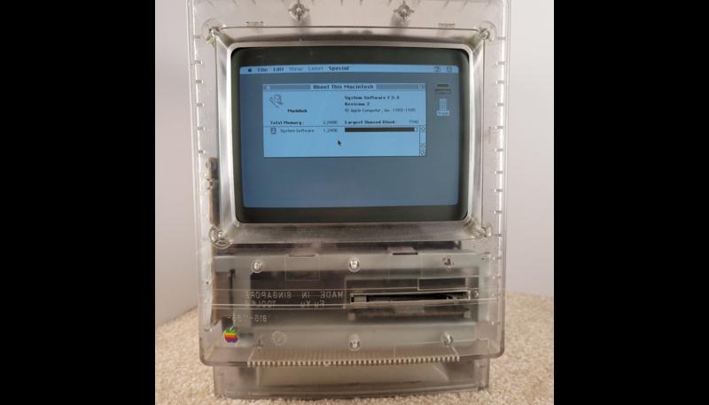Images of Translucent Macintosh Classic Prototype Shared on Twitter