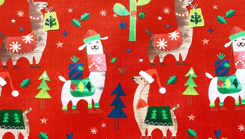 Wallpaper Weekends: Christmas Wrapping Wallpapers for iPhone and iPad