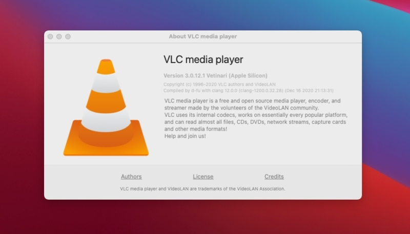 VLC Media Player Version 3.0.12 Adds Native Apple Silicon Support