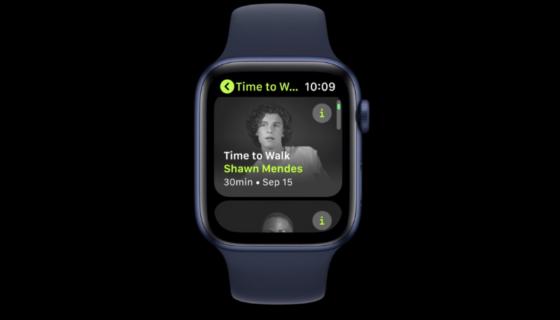 watchOS 7.3 Time to Walk