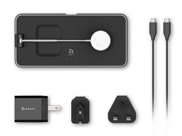 OMNIA Q3 3-in-1 Wireless Charging Station
