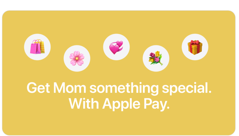 Latest Apple Pay Promotion Offers Mother's Day Discounts From 1-800-Flowers, J.Crew, Zazzle and More When You Pay With Apple Pay