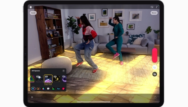 Apple's Clips Adds AR Spaces Feature – Allows Users to Apply Fun, Engaging Video Effects