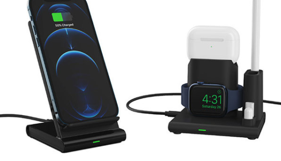 OMNIA Q4 4-in-1 Wireless Charging Station