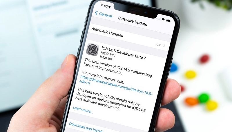 Apple Releases Seventh Betas of iOS 14.5 and iPadOS 14.5 to Developers and Public Beta Testers