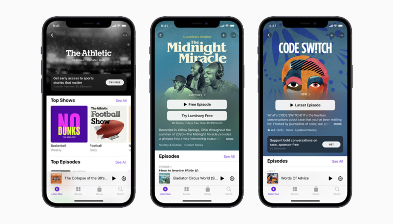 Apple Podcasts Subscriptions Option to Launch on June 15