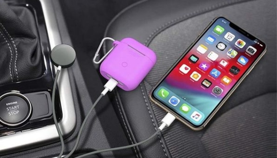 3-in-1 Apple Watch and Lightning Charger Cable