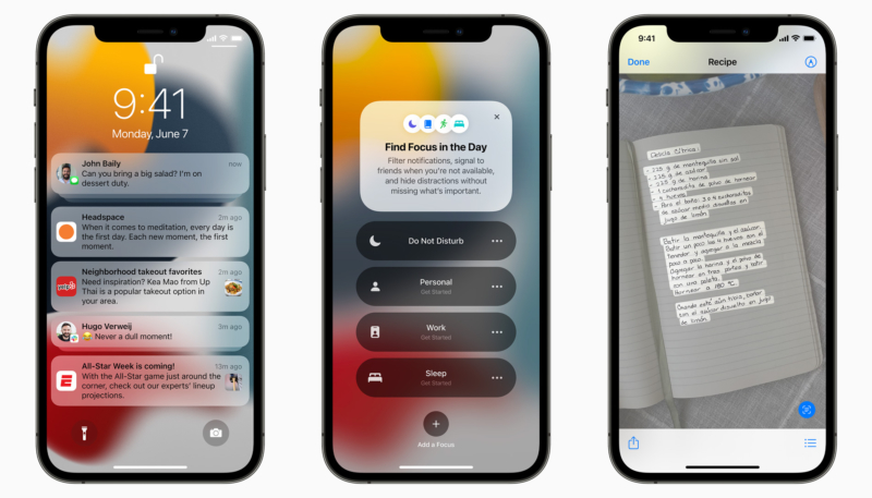 Apple Seeds Sixth iOS 15 and iPadOS 15 Betas to Developers for Testing