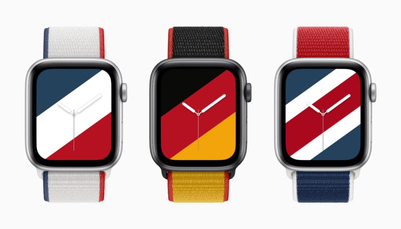Apple Announces Colorful Apple Watch International Collection Bands and Faces