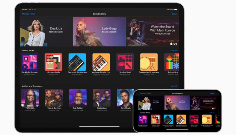 GarageBand Updated With 'Sound Packs' From Popular Artists & Producers