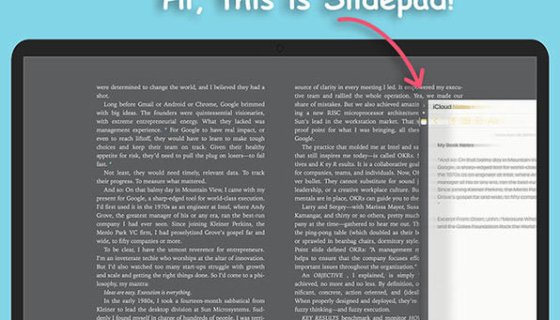 Slidepad Mac App