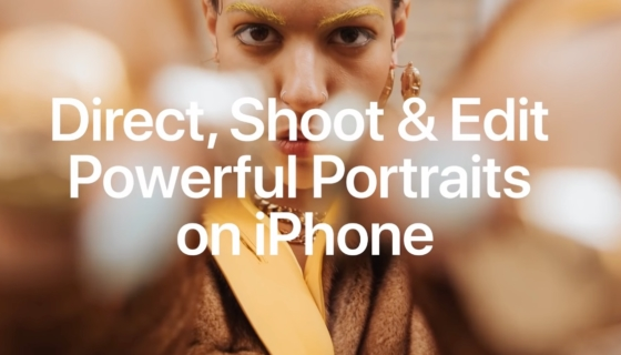 Direct Shoot and Edit Powerful Portraits on iPhone