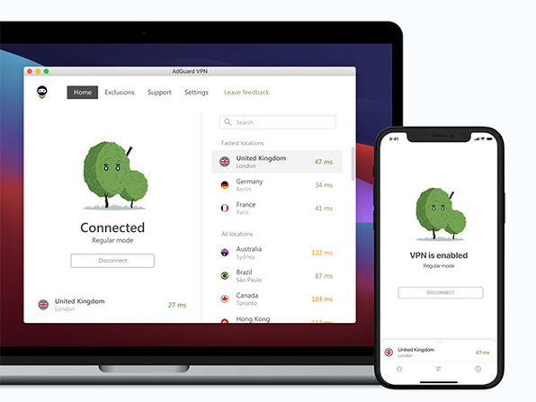MacTrast Deals: AdGuard VPN: 5-Yr Subscription