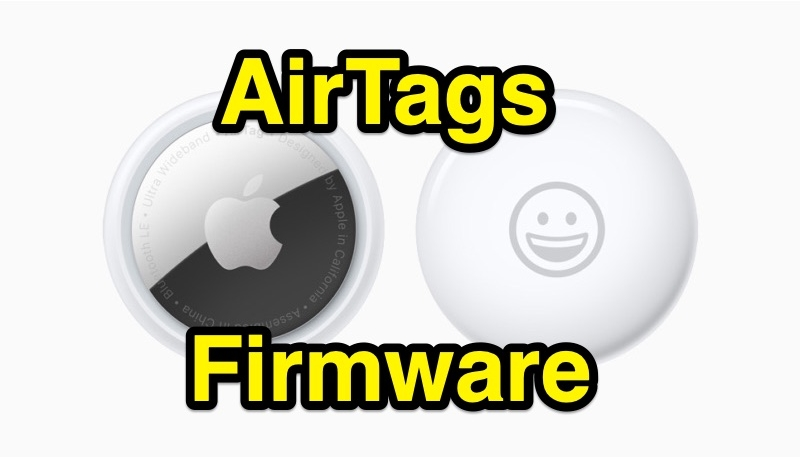 Apple Releases New AirTags Firmware to Public
