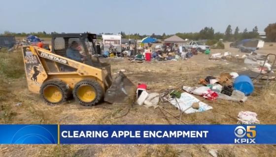 Apple - North San Jose Homeless Encampment