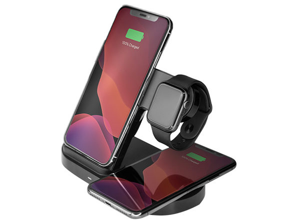 MacTrast Deals: HyperGear 3-in-1 Wireless Charging Dock for Phone, Apple Watch & AirPods