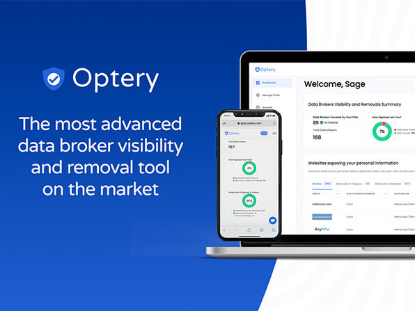 MacTrast Deals: Optery Data Broker Removal: 1-Yr Subscription